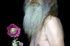 Alan with opium